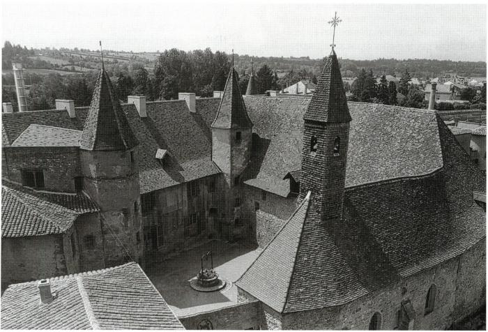 b5a1c7f4a729 Espaces monastiques ruraux en Rhône-Alpes - Les bâtiments - Alpara