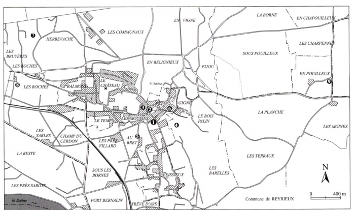 Vivre à La Campagne Au Moyen âge Reyrieux Le Bourg Lécole Alpara