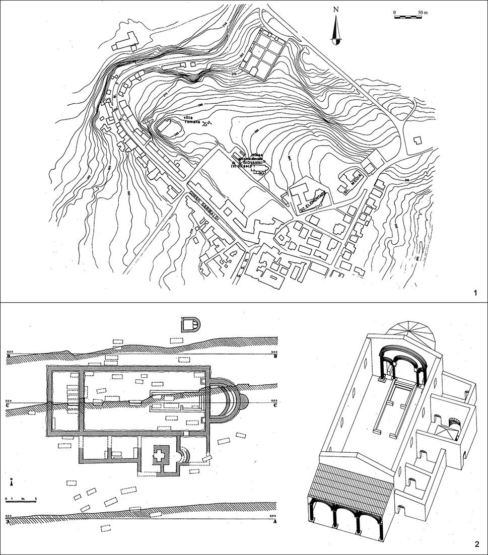 Fana templa delubra corpus dei luoghi di culto dell for Planimetrie della serra