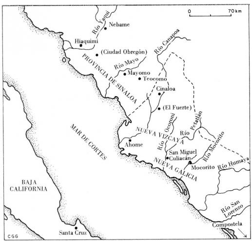 Una resistencia india i la conquista del noroeste for Villas que fundo nuno de guzman