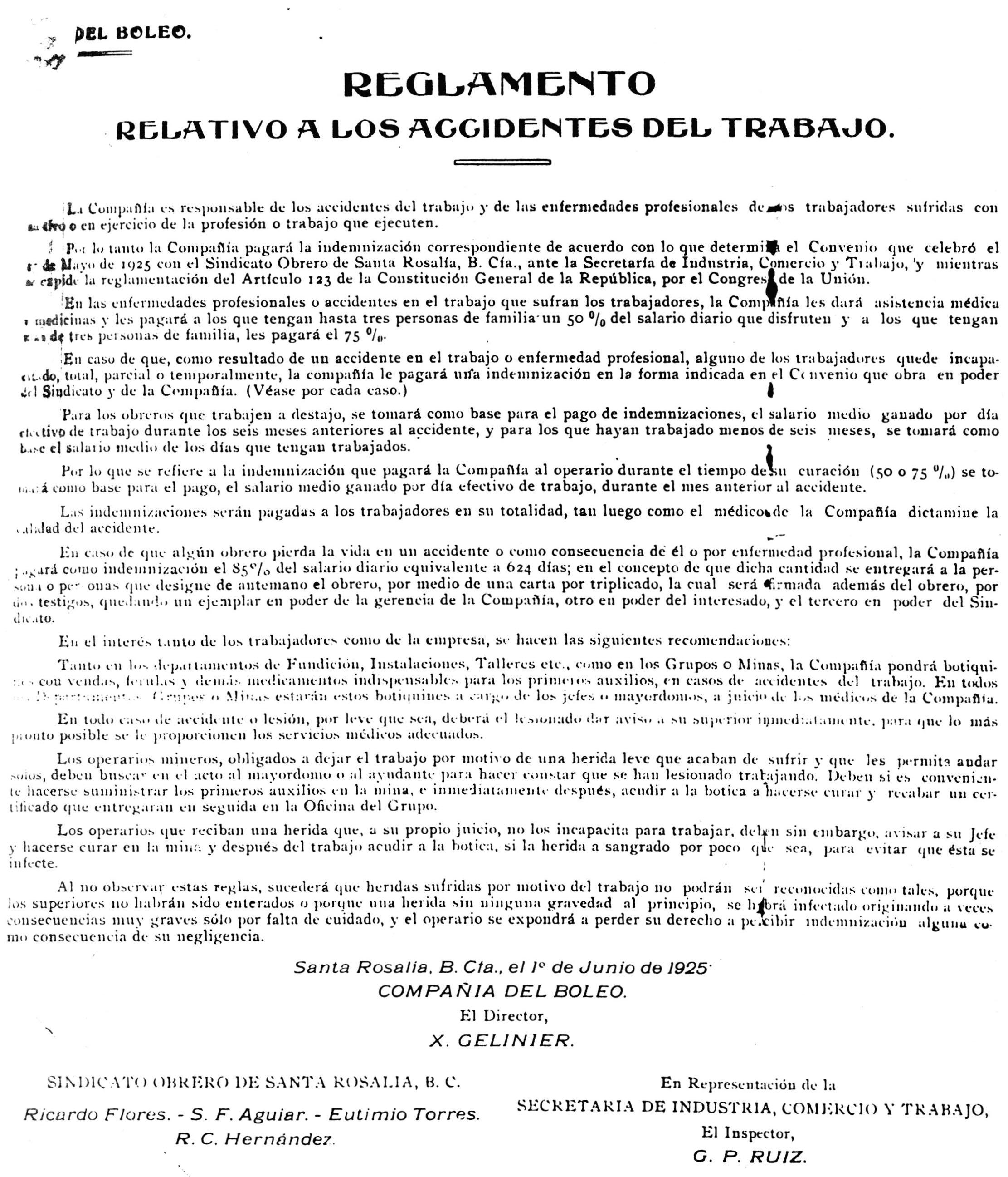 El Boleo: Santa Rosalía, Baja California Sur, 1885-1954 - V ...
