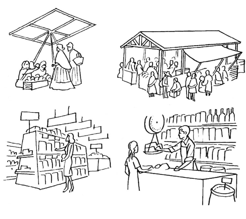 Los mercados de la Plaza Mayor en la ciudad de México - III. El ...