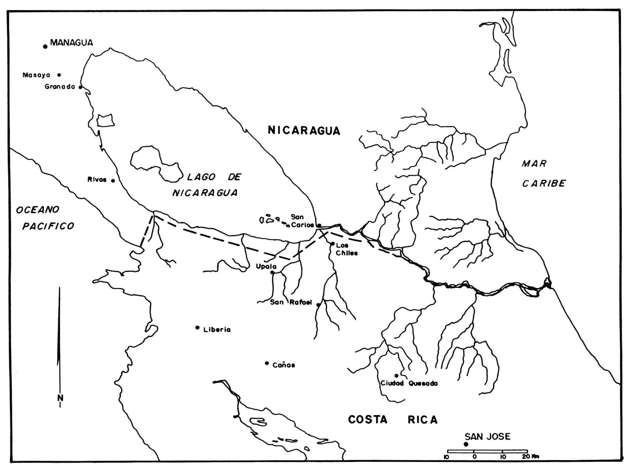 Las fronteras del istmo - La cooperación transfronteriza y los ...