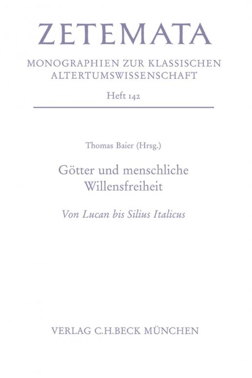 Götter und menschliche Willensfreiheit - Fortuna bei Lucan – Vor ...