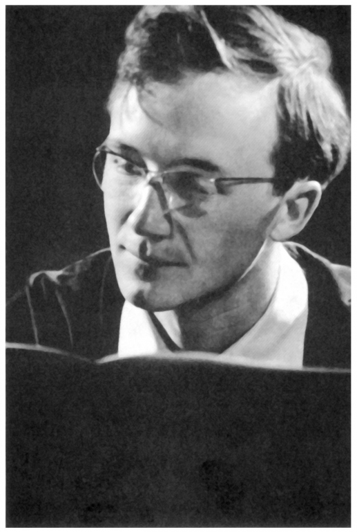 Heinz HOLLIGER en 1962, photo citée de la page https://books.openedition.org/contrechamps/1797?lang=fr, Cliquer sur la photo pour une vue agrandie et les références