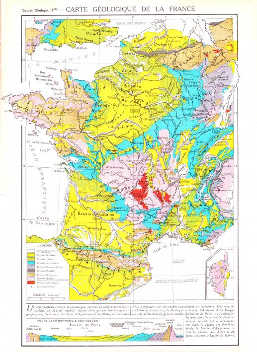 Carte Geologique Allemagne