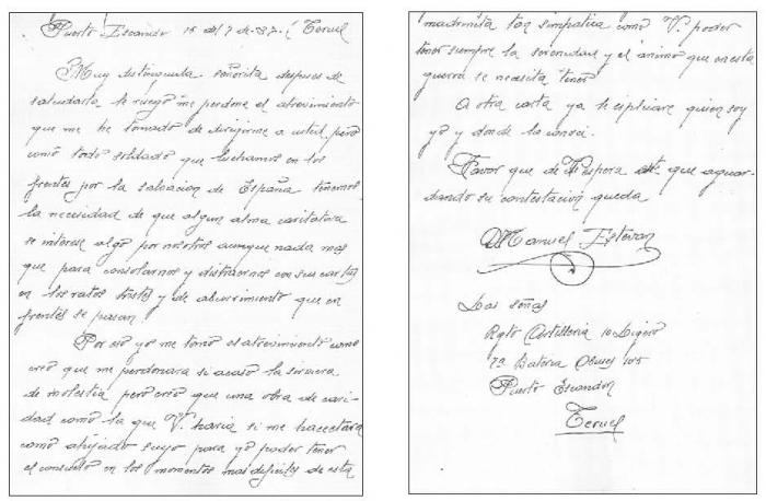 Culturas Del Escrito En El Mundo Occidental Cartas Para