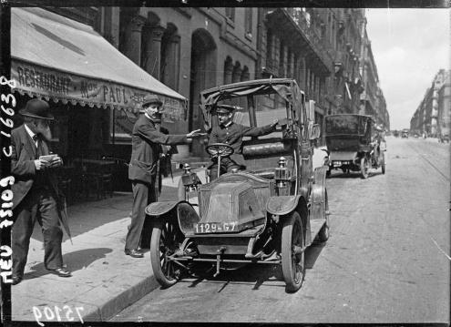 Marcel proust l agenda 1906 f 21 23 ditions de la for Garage des taxis g7