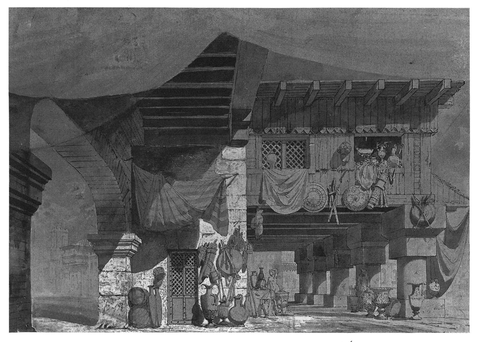 Dessin Architecture Maison : Décors et costumes du xixe siècle tome ii décorateurs
