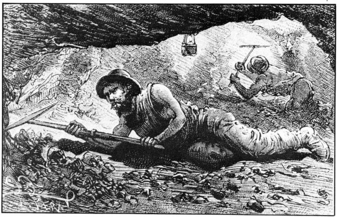 Vestige des mines de charbon de Putteville