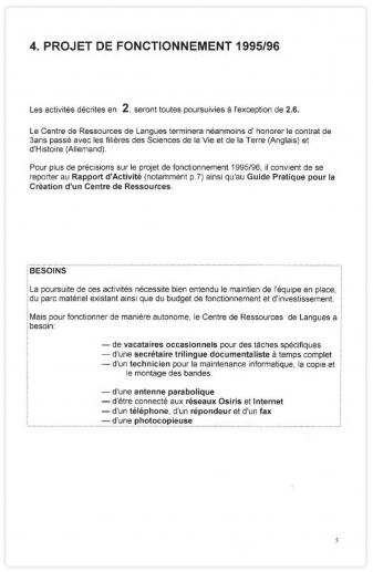 Enjeux Et Dilemmes De L Autonomie Le Premier Crl 1992
