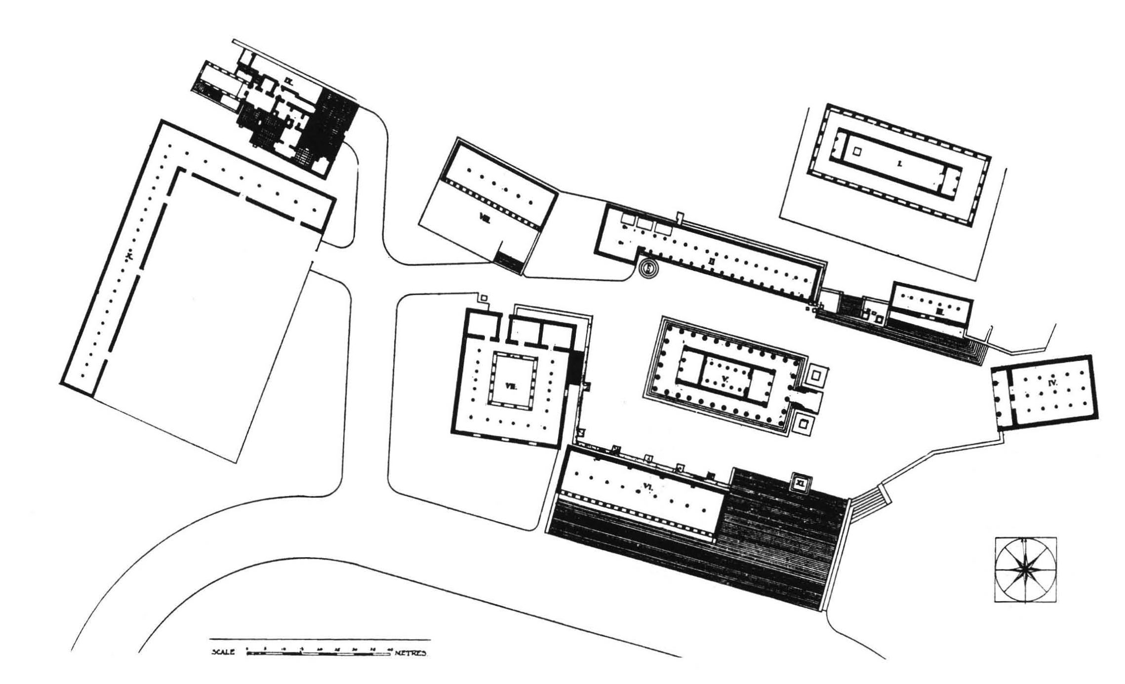 Site Plan for Argive Heraion
