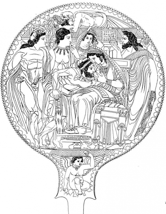 L Ecriture Et L Espace De La Mort Epigraphie Et Necropoles A L Epoque Preromaine Etruscan Mirrors And The Grave Publications De L Ecole Francaise De Rome