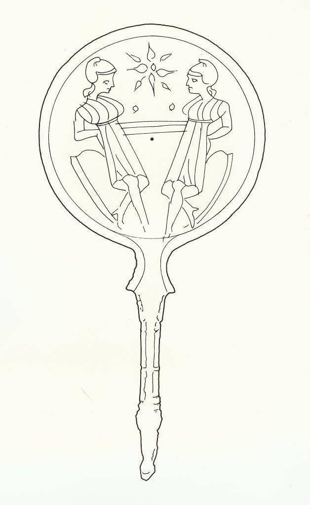Aphrodite Symbol Mirror