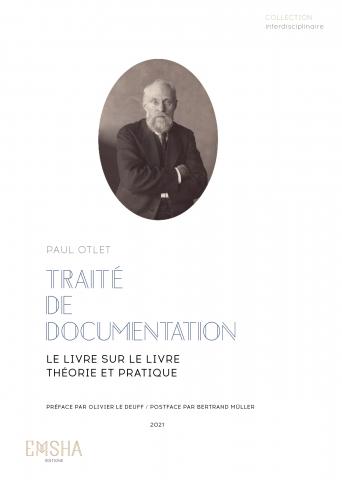 Traité de documentation. Couverture. 2021
