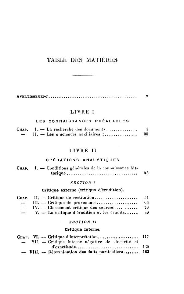introduction aux  u00e9tudes historiques