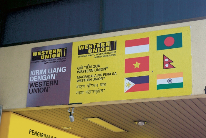 Habiter le transnational photographies ens ditions for Bureau western union