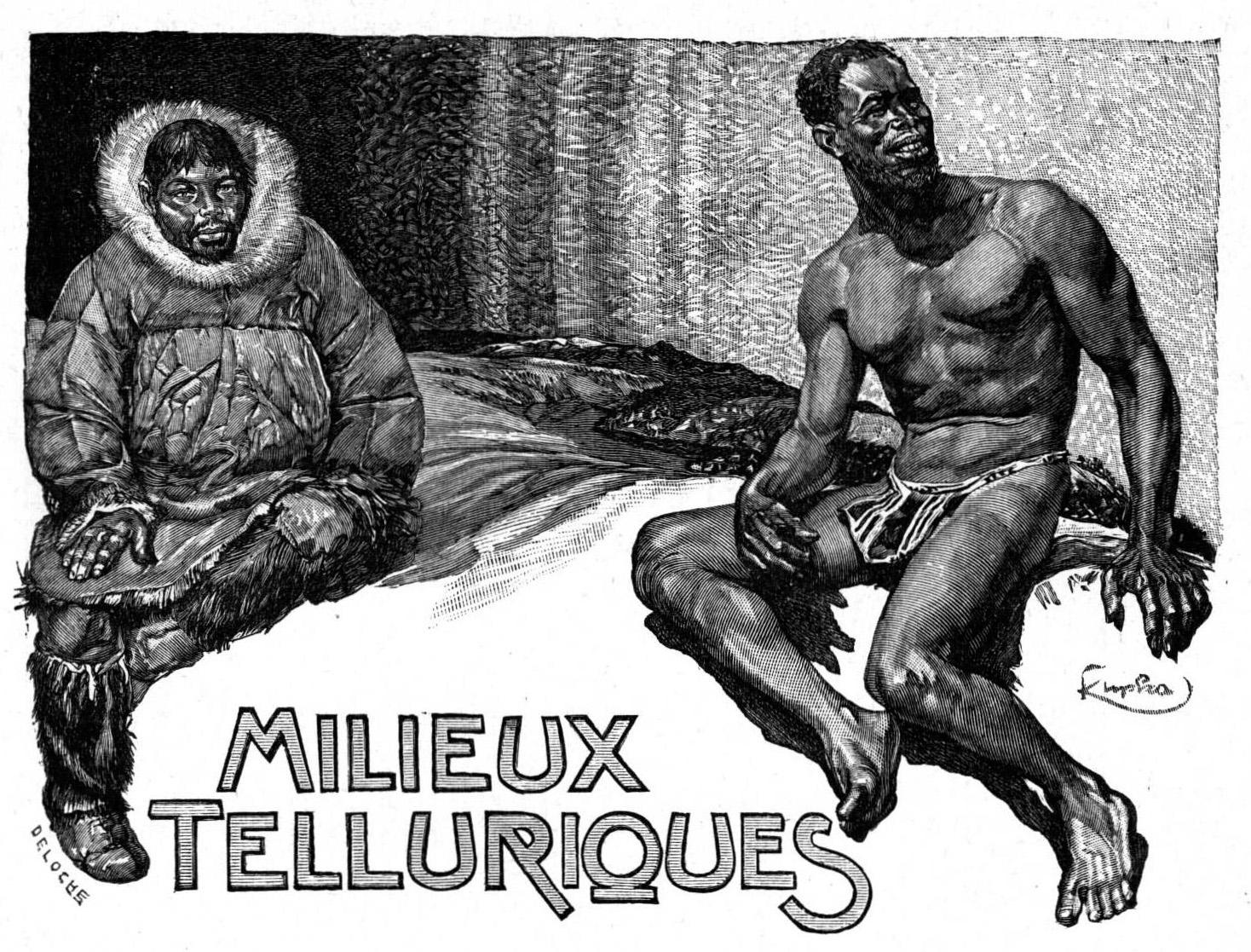 Lhomme Et La Terre Livre 1 Les Ancêtres Milieux Telluriques