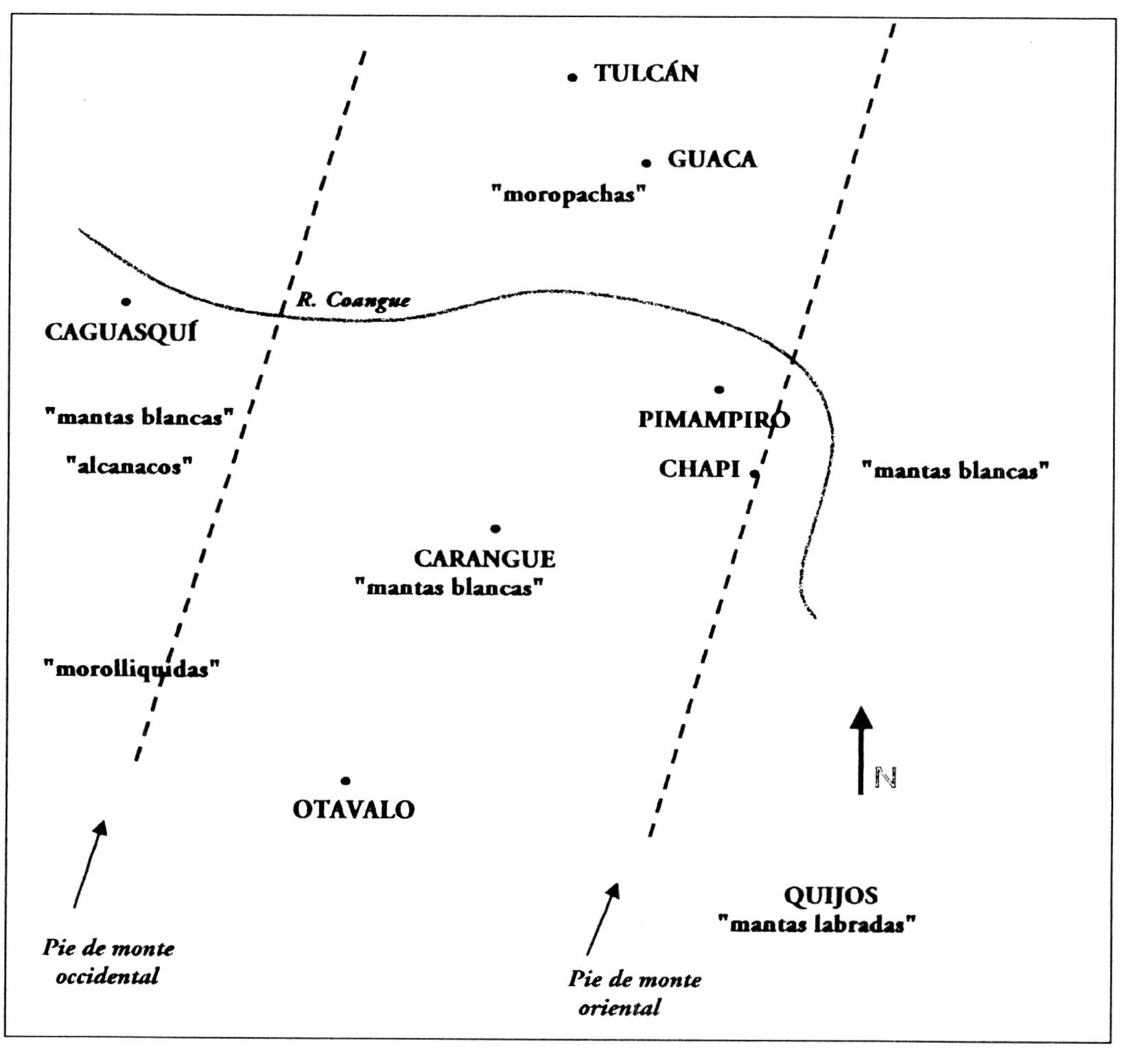 Etnias del norte - II.1. El tributo textil en el norte de Ecuador ...
