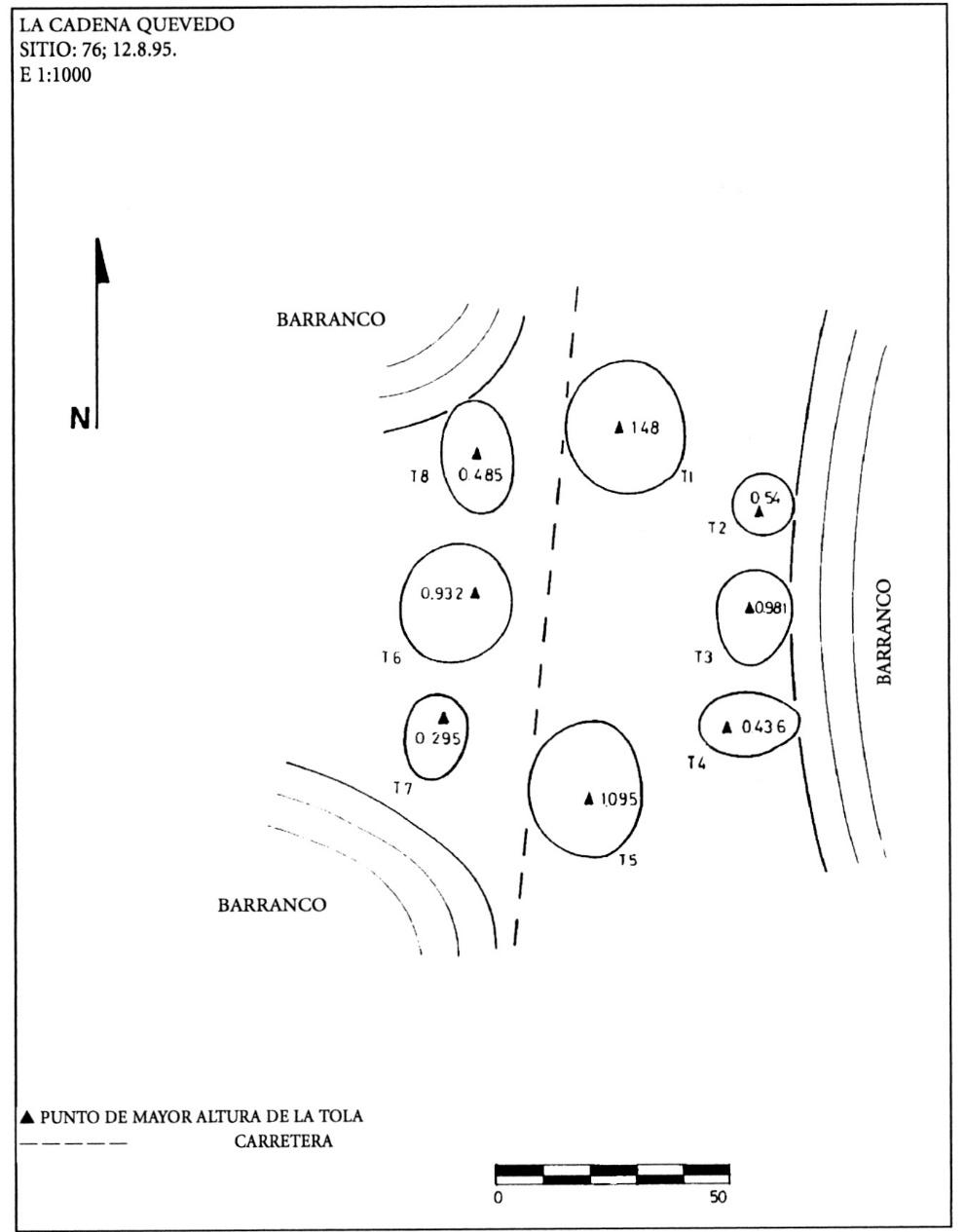 El área septentrional andina - Patrones de asentamiento en el ...