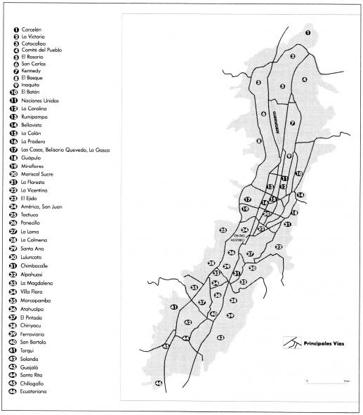 Quito Inesperado Capitulo I Una Ciudad En La Sierra Institut