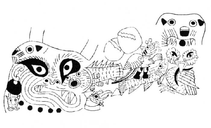 61 Gambar Doodle Keren Citra HD