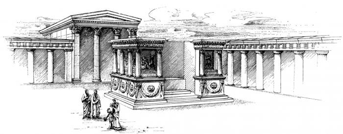 Le Mort Dans La Ville Burying A Sage The Heroon Of Thales