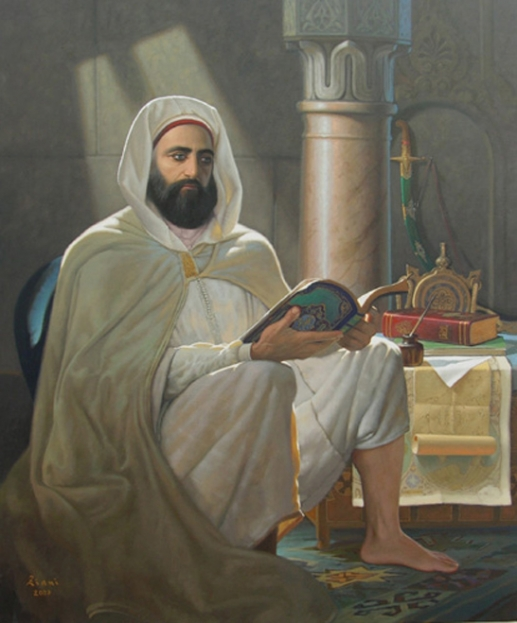 Abd el-Kader méditant