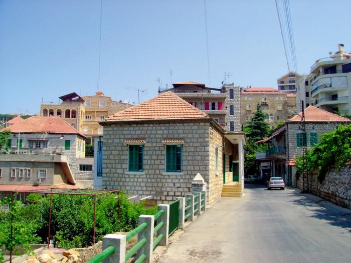 Atlas du liban chapitre 3 population et peuplement for Architecture maison traditionnelle libanaise