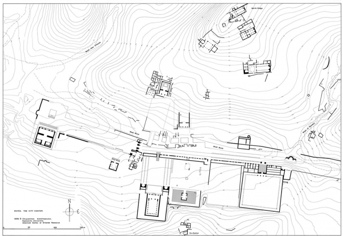 Atlas of jordan the nabataean age 4th century bc 1st for Jordan built homes floor plans