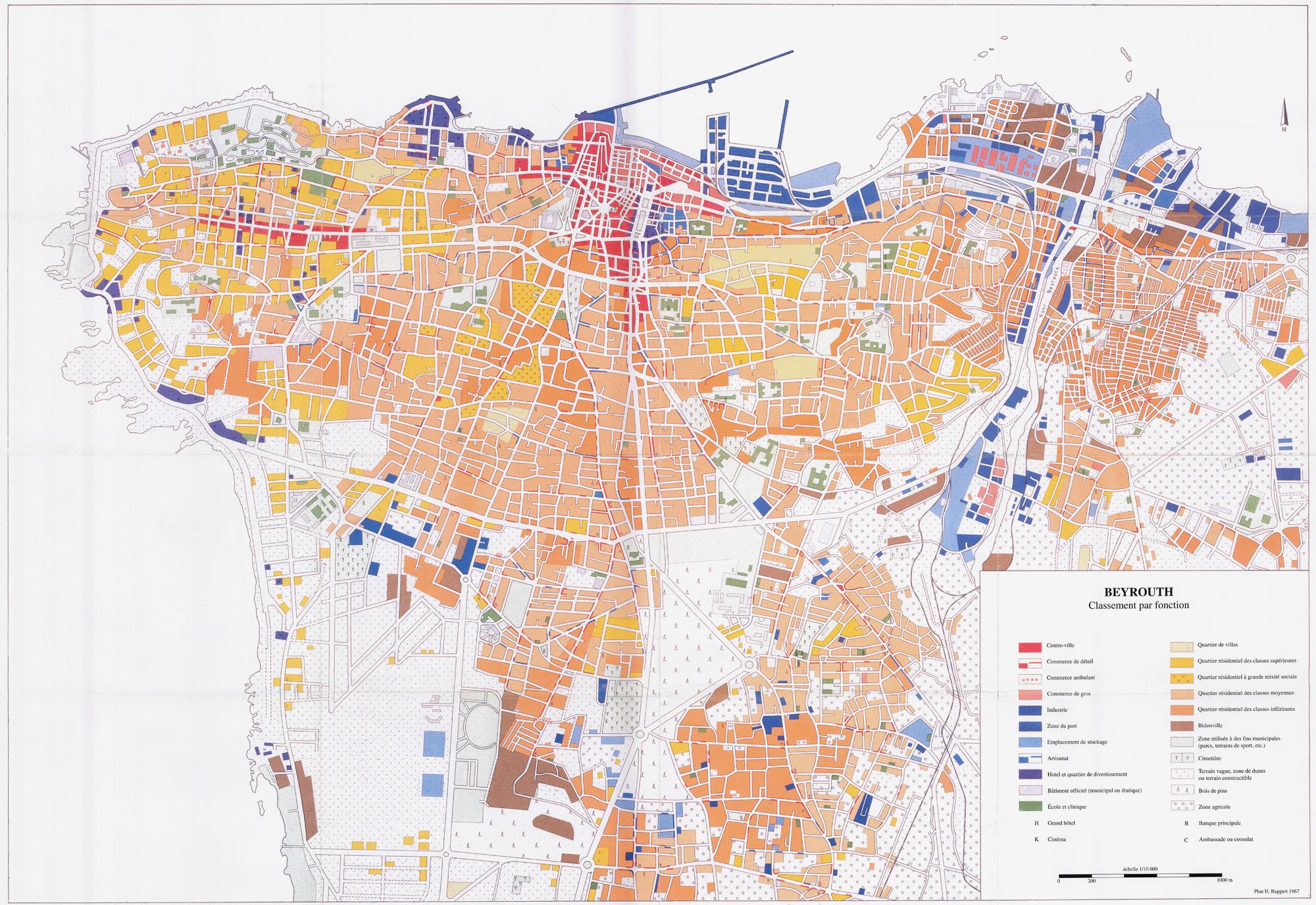 Beyrouth, une ville d'Orient marquée par l'Occident