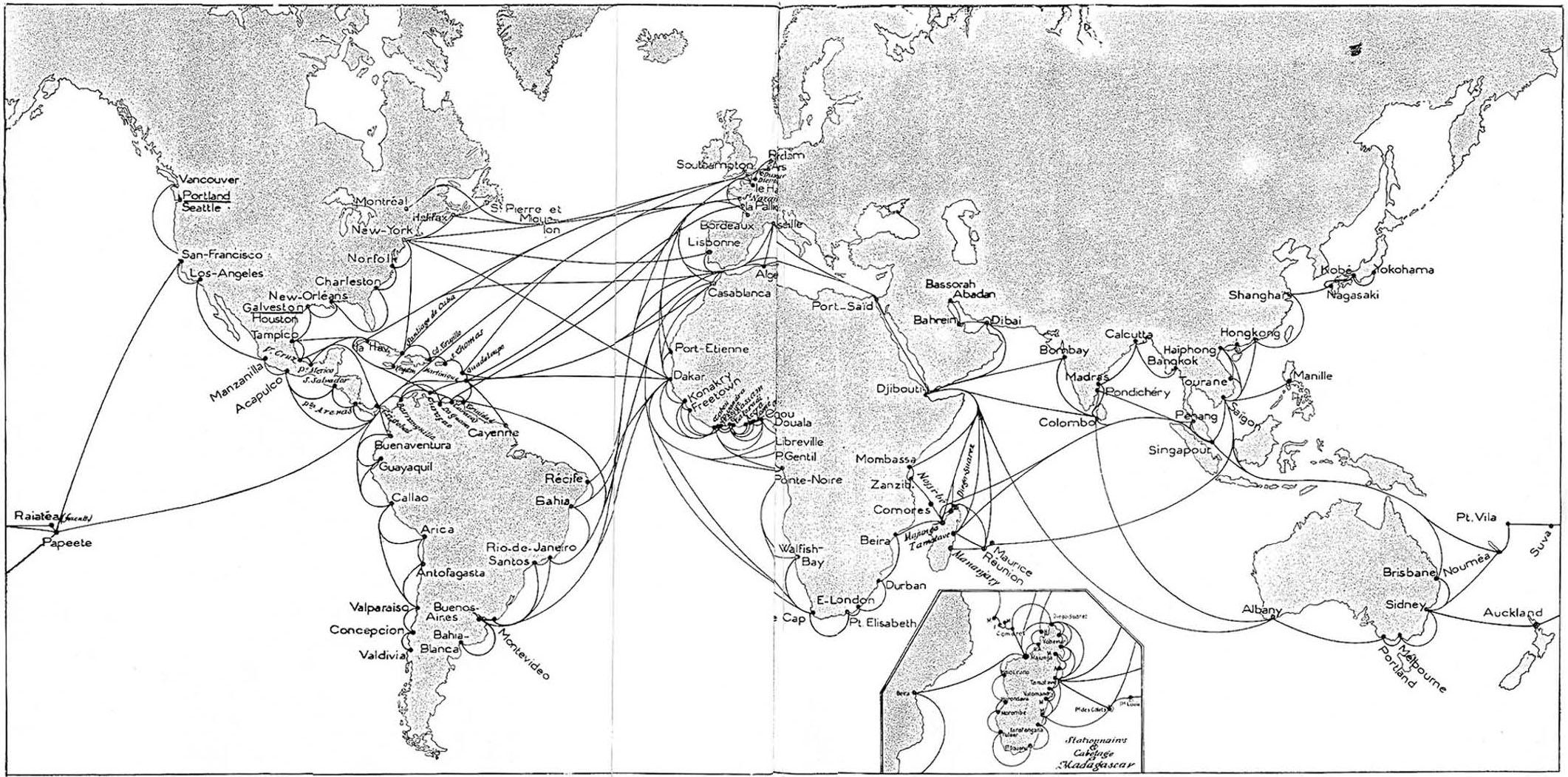 les grandes mutations de la marine marchande fran u00e7aise