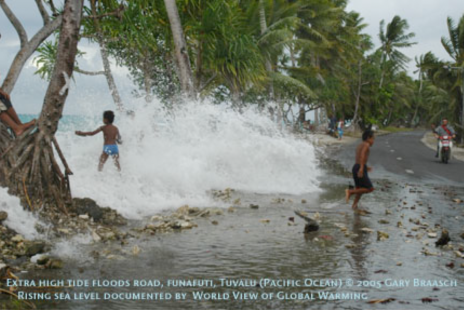 r 233 chauffement climatique et migrations forc 233 es le cas de tuvalu 2 tuvalu 224 la mont 233 e