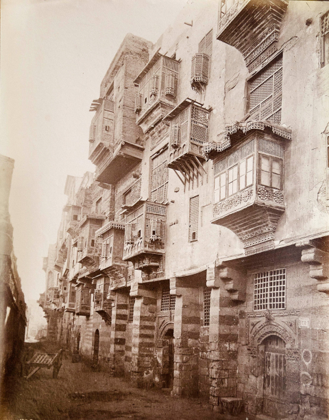 "2b. Unidentified photographer, ""Rue Touloun"" [Tulun], after the intervention works of the Tanzim."