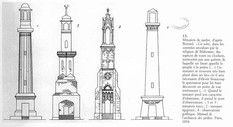 1. Minarets De Jardins.