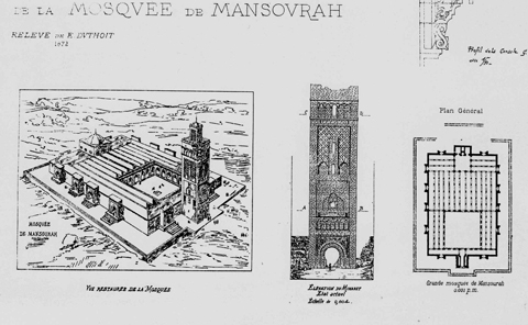 L orientalisme architectural e oriental ou colonial for Plan tlemcen