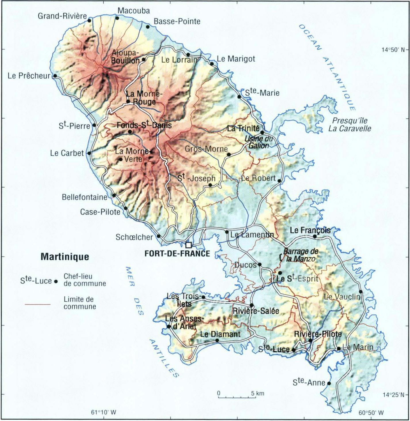 Agriculture biologique en Martinique   Cartes hors texte   IRD