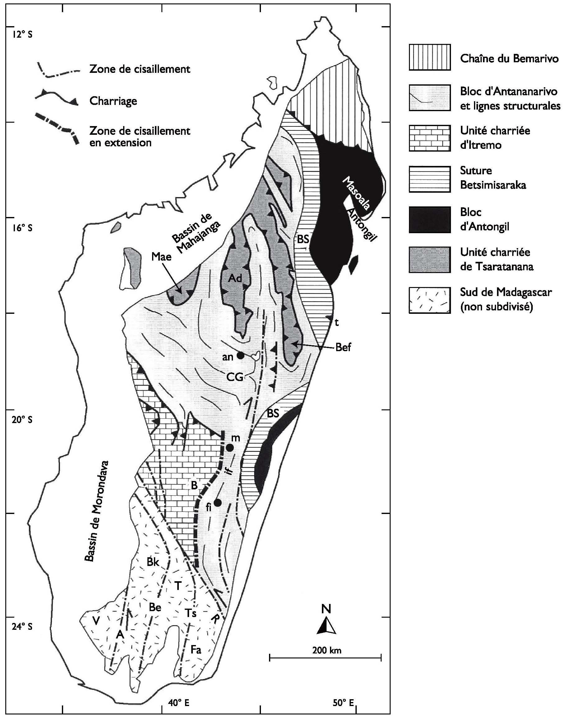 Carte Miniere De Madagascar Pdf.Parcours De Recherche A Madagascar Chapitre 11 Geologie