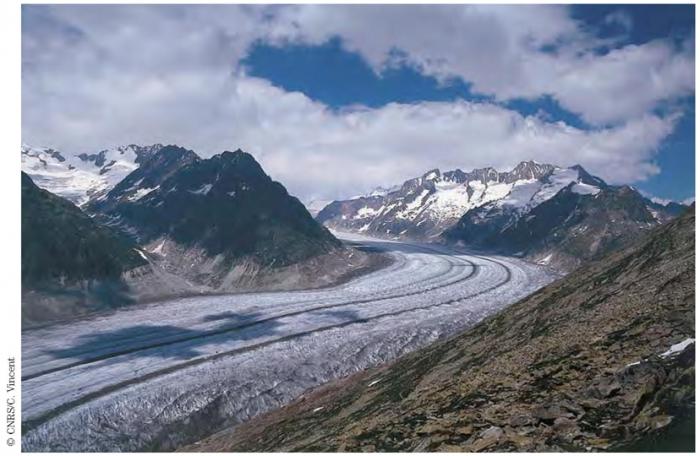 Une datation synchronisée de trois carottes de glace du Groenland tout au long de l'Holocène