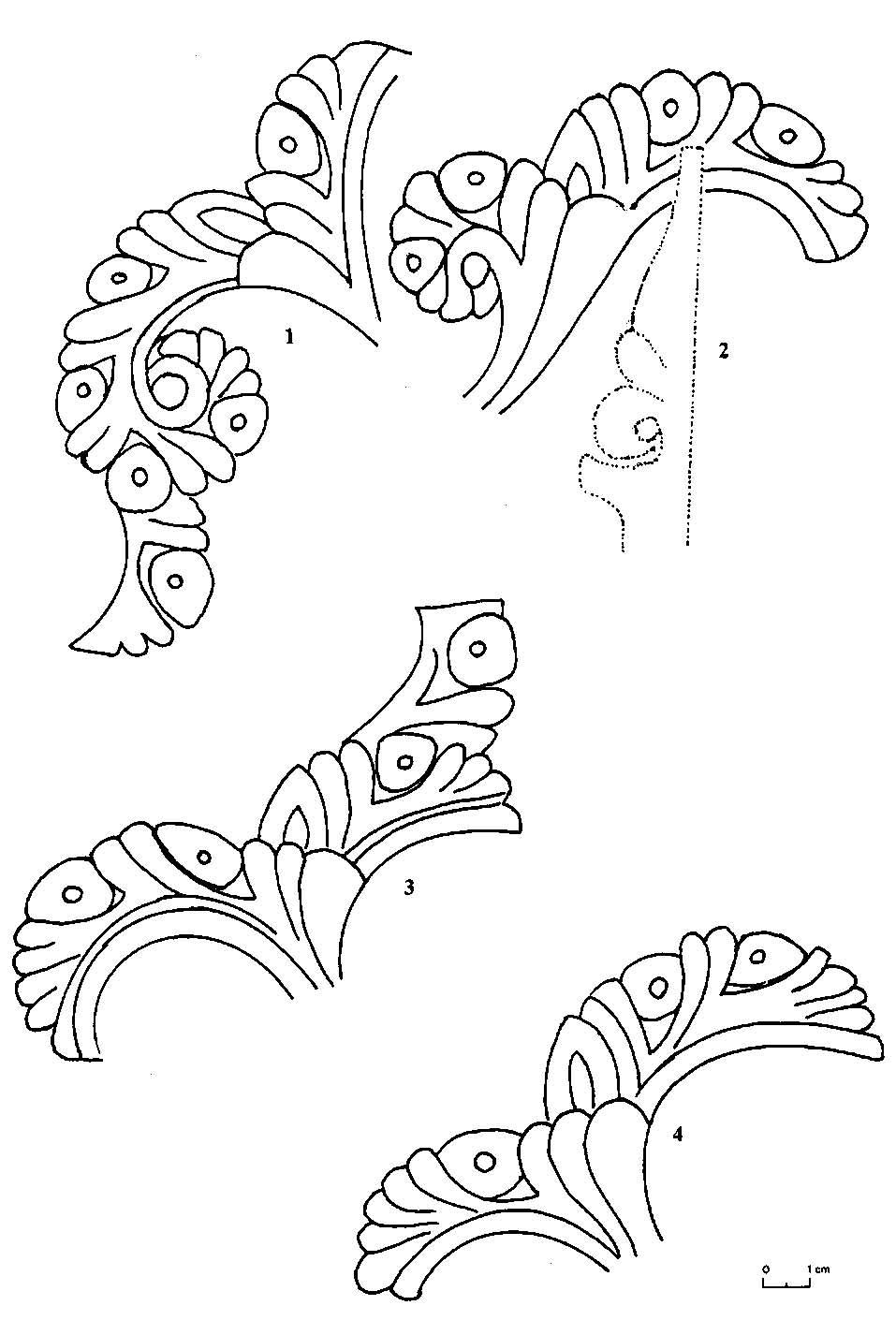 Le d cor sur bois dans l architecture de f s frises for Art et decoration pdf