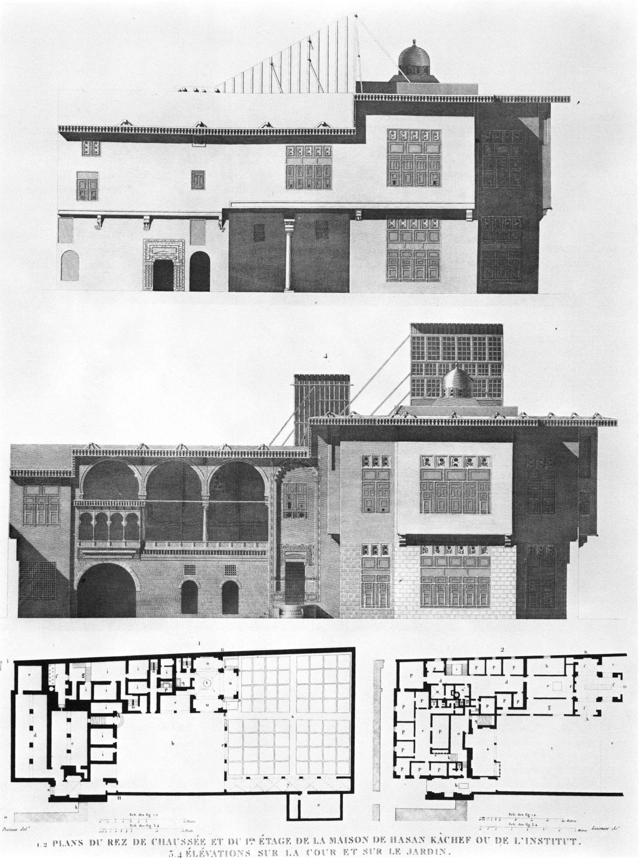 Palais et maisons du caire tome ii volution de l for Architecture egyptienne