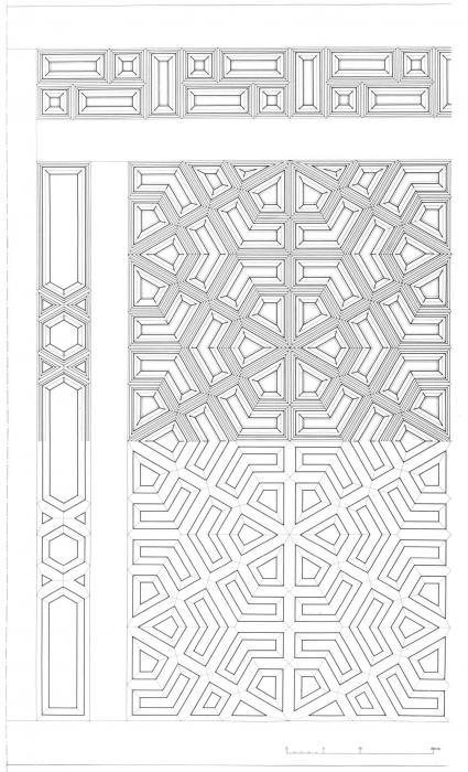 Assemblage Bois Hexagone : Palais et maisons du Caire. Tome II – Mat?riaux et d?cor – Institut