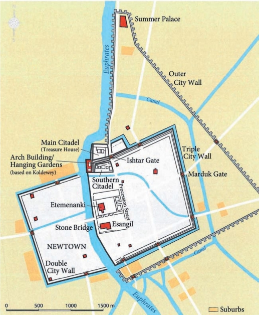 city of babylon map - photo #20