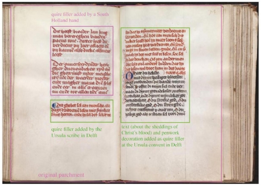 half an hour in a convent script