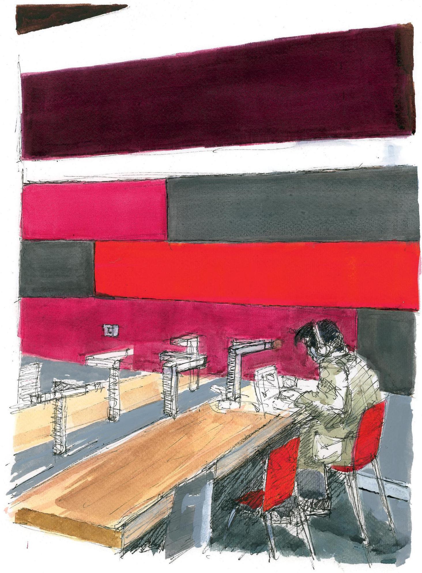 Architecture et bibliothèque - Quelle place pour la couleur en ... 710a319e7c1