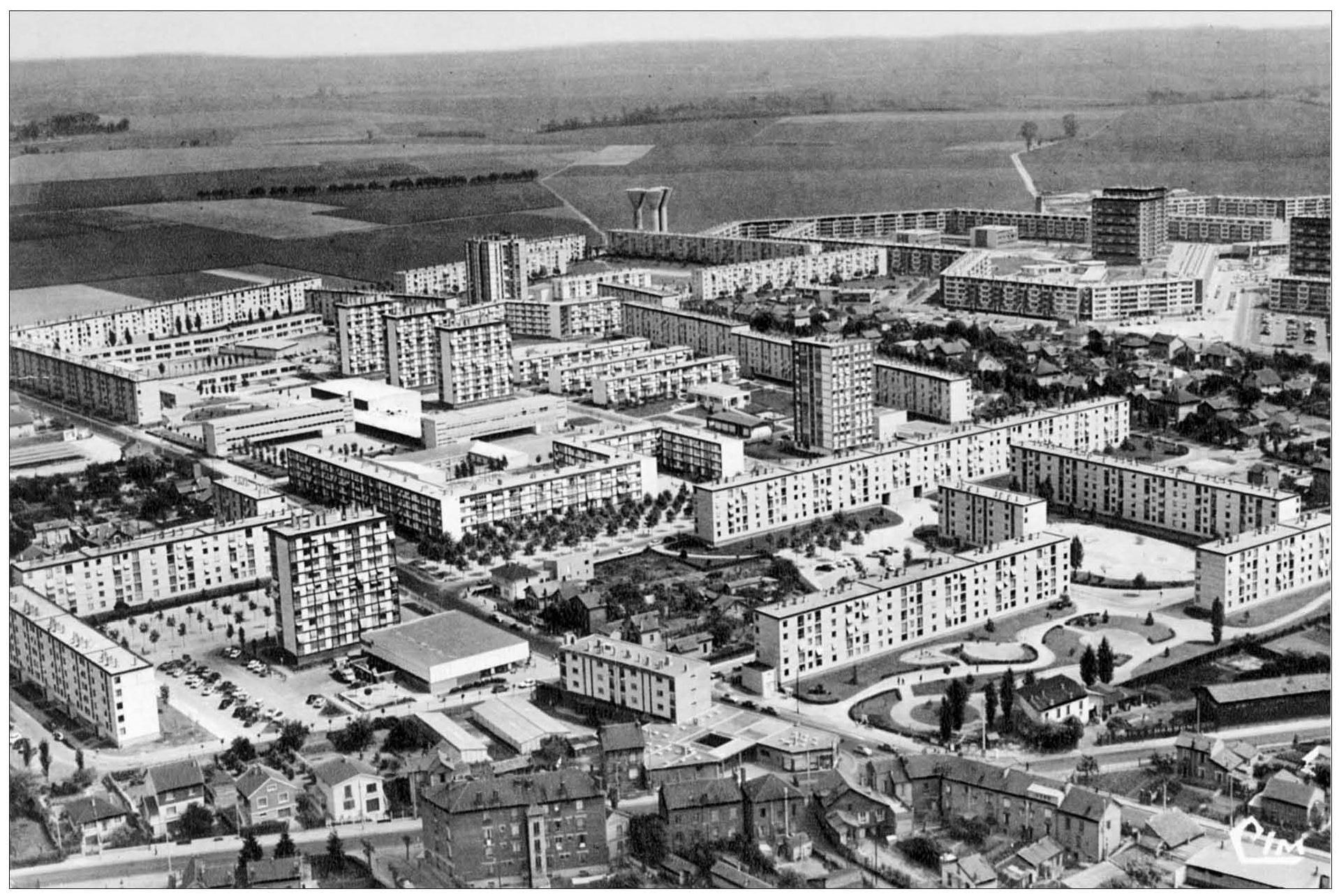 Agrandir paris 1860 1970 la construction des grands for Agrandir construction