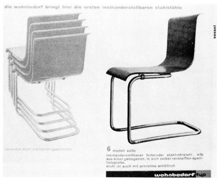 un art sans fronti res les meubles d alvar aalto leur diffusion internationale 1920 1940. Black Bedroom Furniture Sets. Home Design Ideas