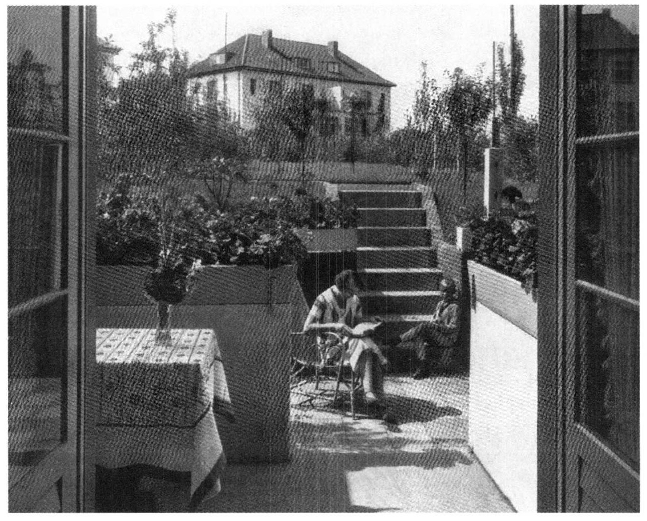 Guerre du toit et modernit architecturale introduction for Jardines walter benjamin