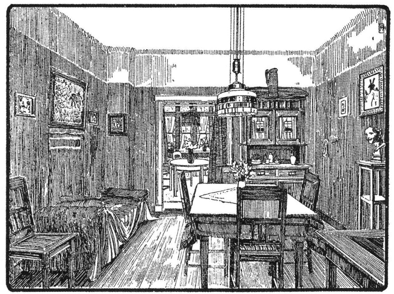 Guerre du toit et modernit architecturale chapitre v trois cit s d habitation exprimant l - Cuisine darty modele sorbonne ...