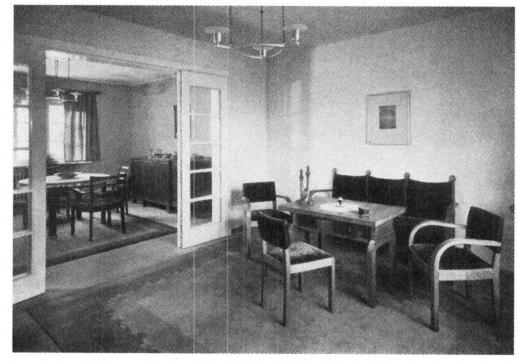 Guerre du toit et modernit architecturale chapitre vi for Interieur 1930
